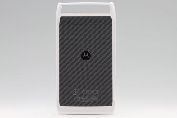 【ネコポス送料無料】MOTOROLA RAZR (XT910) バックカバー 2色あります  [2]