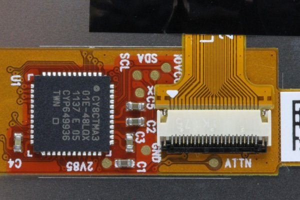 Blackberry bold 9900 ホワイト 液晶ASSY 001  [3]