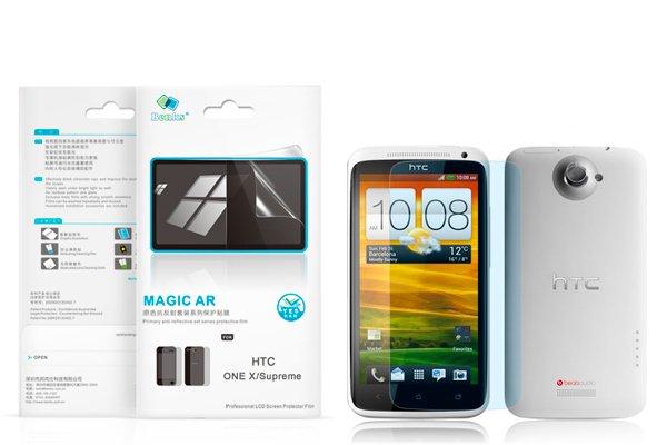 【ネコポス送料無料】 反射防止液晶保護フィルム HTC One X (S720e)  [2]