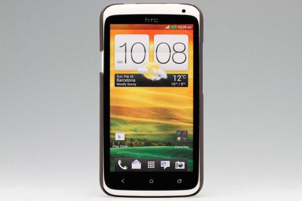 【ネコポス送料無料】HTC One X (S720e) 専用保護カバー LCD液晶保護フィルム付き 5色あります  [2]