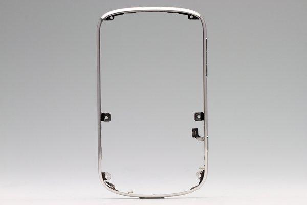 【ネコポス送料無料】Blackberry Bold 9900 フレーム ホワイト  [1]