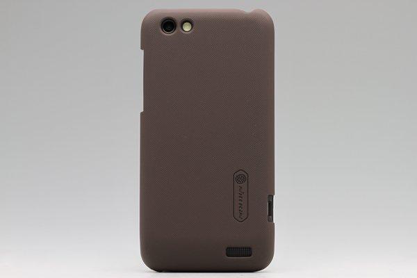 【ネコポス送料無料】HTC One V (T320e) 専用保護カバー LCD液晶保護フィルム付き 3色あります  [3]