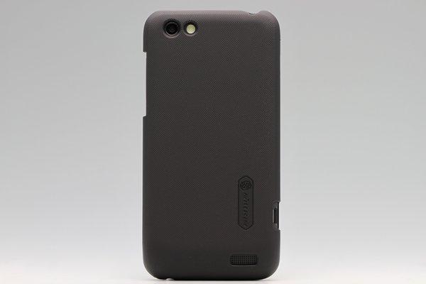 【ネコポス送料無料】HTC One V (T320e) 専用保護カバー LCD液晶保護フィルム付き 3色あります  [4]