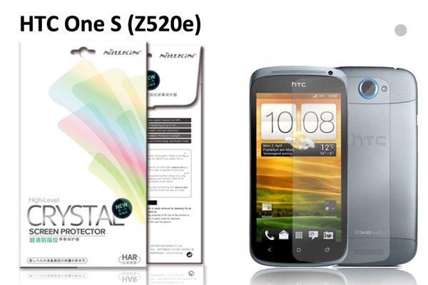 【ネコポス送料無料】HTC One S(Z520e) 液晶保護フィルムセット クリスタルクリアタイプ  [1]