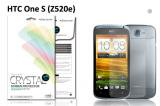 【ネコポス送料無料】HTC One S(Z520e) 液晶保護フィルムセット クリスタルクリアタイプ