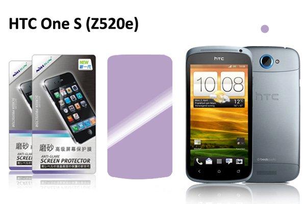 【ネコポス送料無料】HTC One S(Z520e) 液晶保護フィルムセット アンチグレアタイプ  [1]