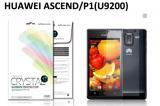 【ネコポス送料無料】HUAWEI Ascend P1 (U9200) 液晶保護フィルムセット クリスタルクリアタイプ