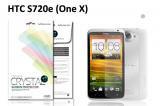 【ネコポス送料無料】HTC One X(S720e) 液晶保護フィルムセット クリスタルクリアタイプ