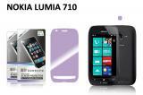 【ネコポス送料無料】NOKIA LUMIA 710用 液晶保護フィルムセット アンチグレアタイプ