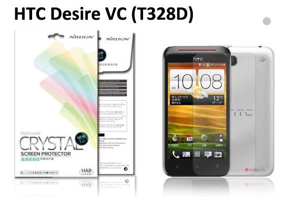 【ネコポス送料無料】HTC Desire VC(T328D) 液晶保護フィルムセット クリスタルクリアタイプ  [1]