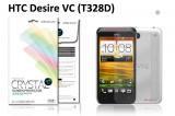 【ネコポス送料無料】HTC Desire VC(T328D) 液晶保護フィルムセット クリスタルクリアタイプ