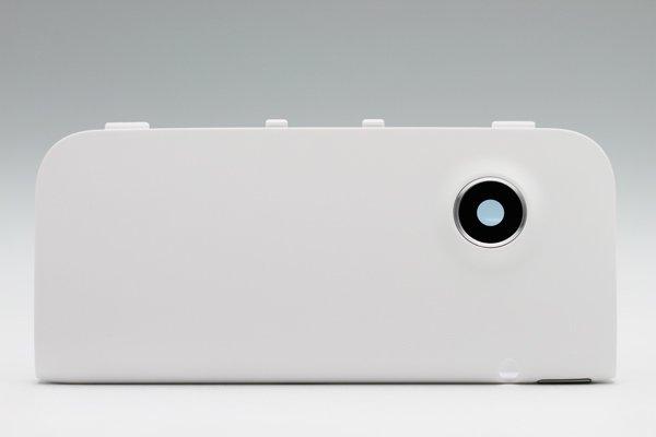 【ネコポス送料無料】HTC Flyer (P510E) アンテナ カメラカバーセット ホワイト  [1]