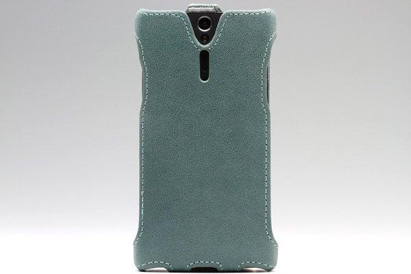 【ネコポス送料無料】Xperia S / NX (LT26i SO-02D) Rock 本革ケース 縦開きタイプ 3色あります  [2]