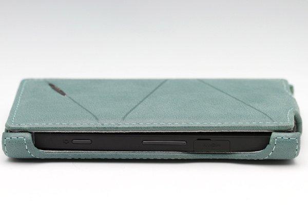 【ネコポス送料無料】Xperia S / NX (LT26i SO-02D) Rock 本革ケース 縦開きタイプ 3色あります  [4]