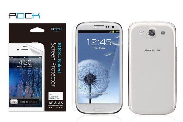 【ネコポス送料無料】SAMSUNG Galaxy S3 (GT-I9300 SC-06D) Rock液晶保護フィルム アンチグレア  [1]