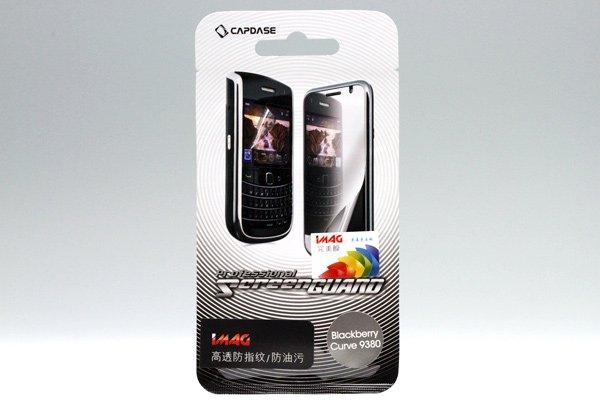 【ネコポス送料無料】CAPDASE製 液晶保護フィルム for Blackberry Curve 9380 2種類あります  [1]