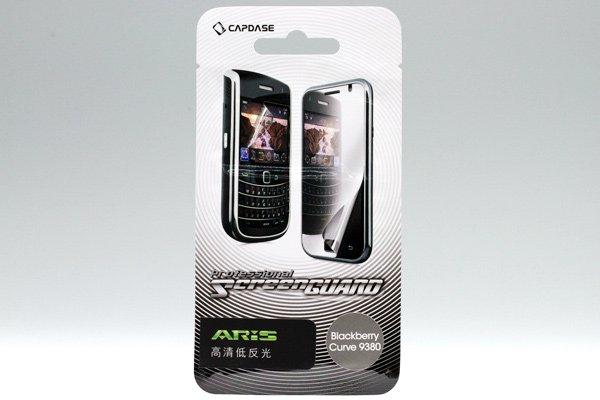【ネコポス送料無料】CAPDASE製 液晶保護フィルム for Blackberry Curve 9380 2種類あります  [2]