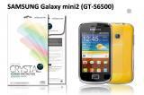 【ネコポス送料無料】SAMSUNG Galaxy mini2 (GT-S6500)液晶保護フィルムセット クリスタルクリア
