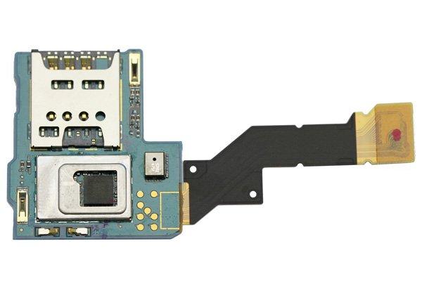 【ネコポス送料無料】Xperia S / NX (LT26i SO-02D) SIMスロットボードASSY  [1]