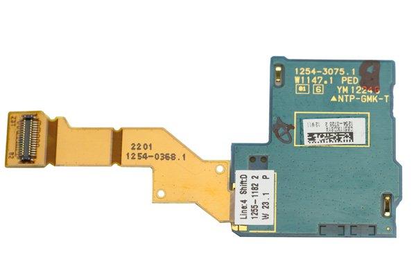 【ネコポス送料無料】Xperia S / NX (LT26i SO-02D) SIMスロットボードASSY  [2]