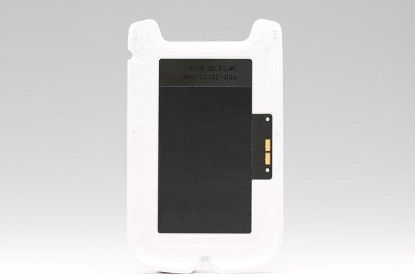 【ネコポス送料無料】Blackberry 9790 バッテリーカバー ホワイト  [2]