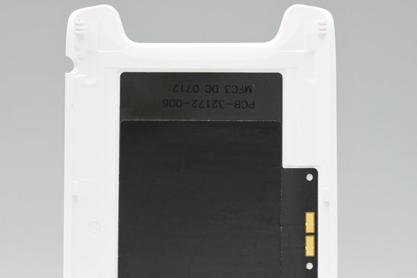 【ネコポス送料無料】Blackberry 9790 バッテリーカバー ホワイト  [3]