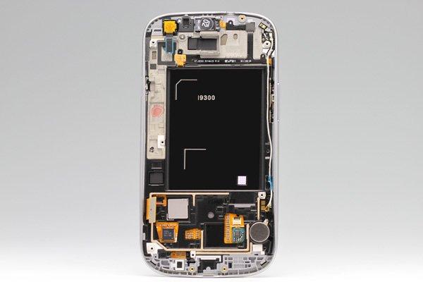 SAMSUNG Galaxy S3(GT-I9300) フロントパネルASSY ホワイト  [2]