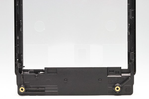 【ネコポス送料無料】Xperia Sola (MT27i) フロントフレーム ブラック  [4]