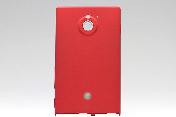【ネコポス送料無料】Xperia Sola (MT27i) バッテリーカバー 全3色  [3]