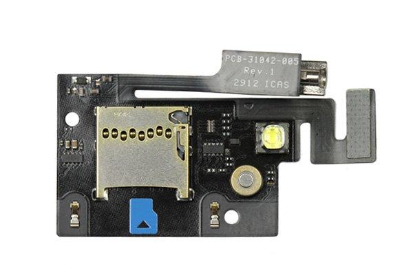 【ネコポス送料無料】Blackberry bold 9900 マイクロSDホルダー&バイブレーターケーブル  [1]
