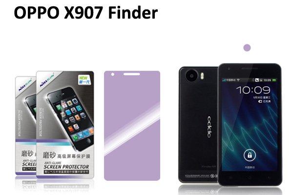 【ネコポス送料無料】OPPO X907 Finder用 液晶保護フィルムセット アンチグレアタイプ  [1]