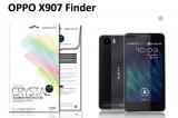 【ネコポス送料無料】OPPO X907 Finder液晶保護フィルムセット クリスタルクリアタイプ