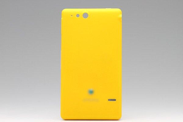 【ネコポス送料無料】Xperia go (ST27i) バッテリーカバー 全3色  [1]