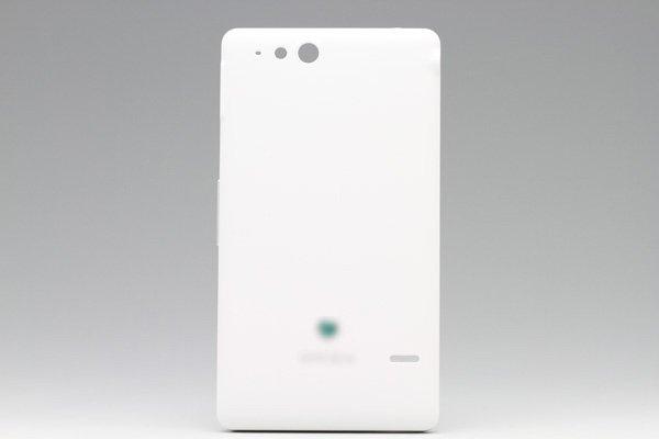 【ネコポス送料無料】Xperia go (ST27i) バッテリーカバー 全3色  [2]