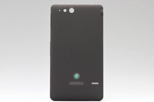 【ネコポス送料無料】Xperia go (ST27i) バッテリーカバー 全3色  [3]