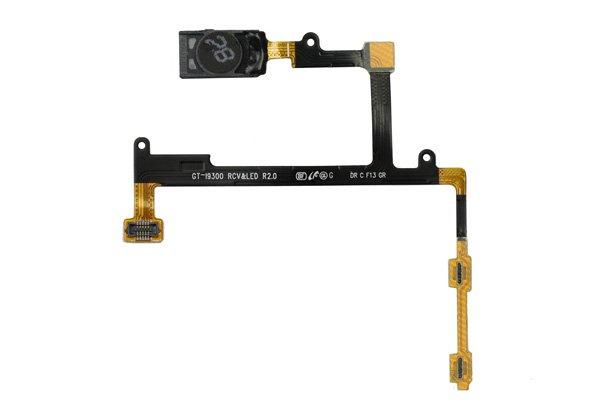 【ネコポス送料無料】SAMSUNG Galaxy S3(GT-I9300 SC-06D) イヤースピーカー&LED&ボリュームケーブル  [1]