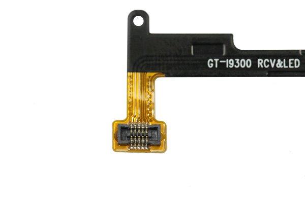 【ネコポス送料無料】SAMSUNG Galaxy S3(GT-I9300 SC-06D) イヤースピーカー&LED&ボリュームケーブル  [3]