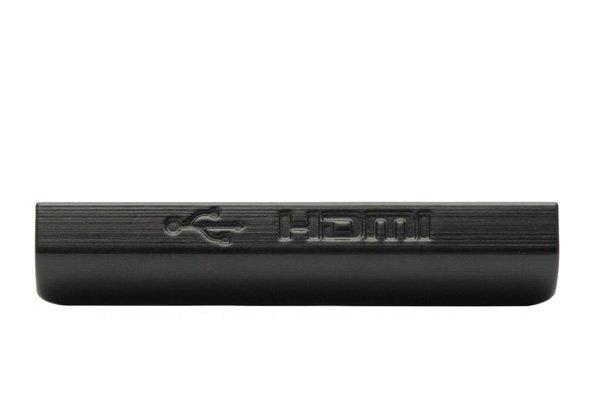 【ネコポス送料無料】Xperia ion (LT28i) USB&HDMIカバー 2色あります  [1]