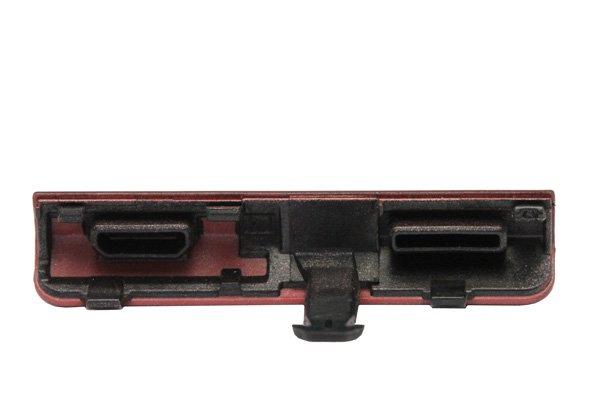 【ネコポス送料無料】Xperia ion (LT28i) USB&HDMIカバー 2色あります  [4]