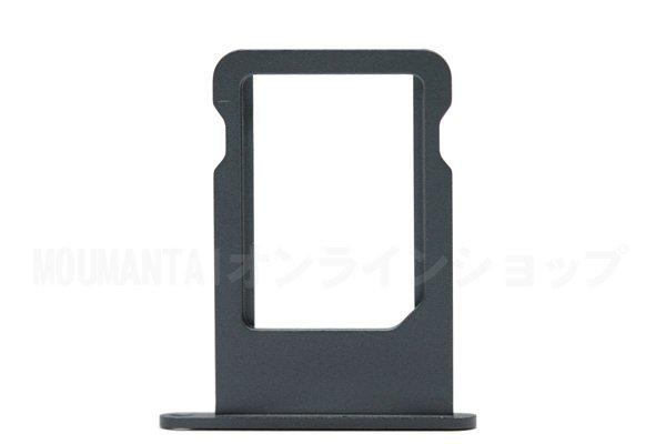 【ネコポス送料無料】Apple iPhone5 Nano SIMカードトレイ ブラック  [1]