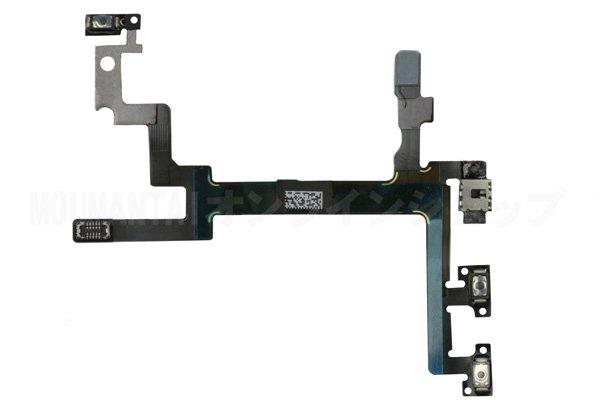 【ネコポス送料無料】Apple iPhone5 パワー&ボリューム&マナーフレックスケーブル