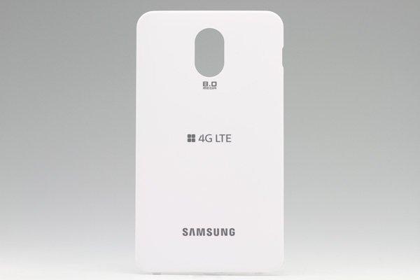 【ネコポス送料無料】SAMSUNG Galaxy S2 HD LTE (SHV-E120S) バッテリーカバー 韓国仕様 ホワイト  [1]