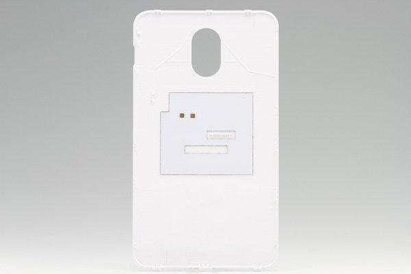 【ネコポス送料無料】SAMSUNG Galaxy S2 HD LTE (SHV-E120S) バッテリーカバー 韓国仕様 ホワイト  [2]