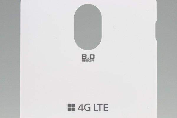 【ネコポス送料無料】SAMSUNG Galaxy S2 HD LTE (SHV-E120S) バッテリーカバー 韓国仕様 ホワイト  [3]