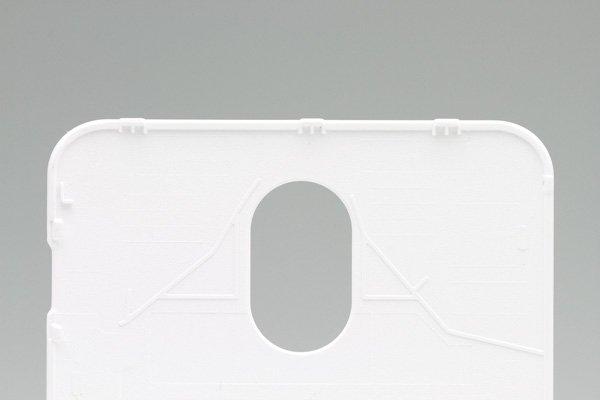 【ネコポス送料無料】SAMSUNG Galaxy S2 HD LTE (SHV-E120S) バッテリーカバー 韓国仕様 ホワイト  [4]