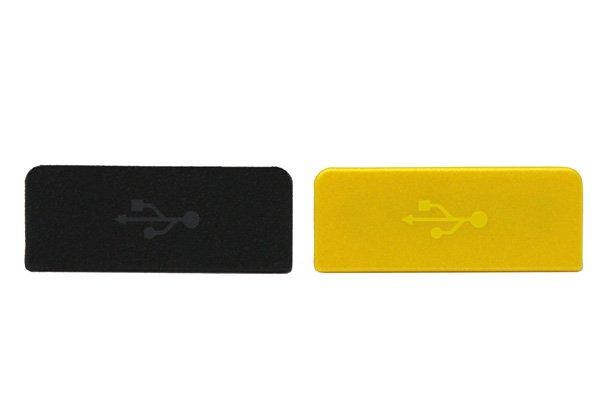 【ネコポス送料無料】Xperia go (ST27i) USBコネクタカバー 全3色  [1]