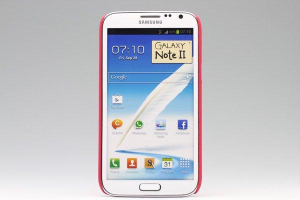 【ネコポス送料無料】SAMSUNG Galaxy Note2 (GT-N7100) 専用ハードカバー 液晶保護フィルム付き 4色あります  [1]