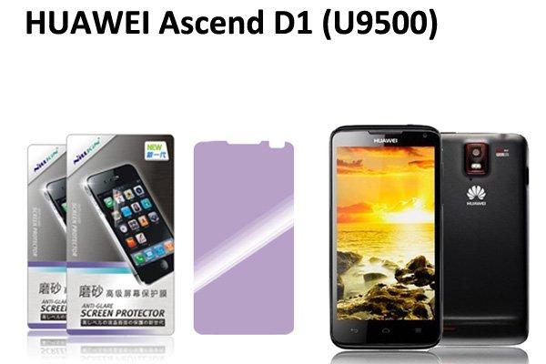 【ネコポス送料無料】HUAWEI Ascend D1 (U9500 U9510) 液晶保護フィルムセット アンチグレアタイプ  [1]