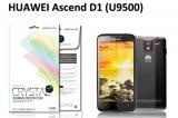 【ネコポス送料無料】HUAWEI Ascend D1 (U9500 U9510) 液晶保護フィルムセット クリスタルクリアタイプ