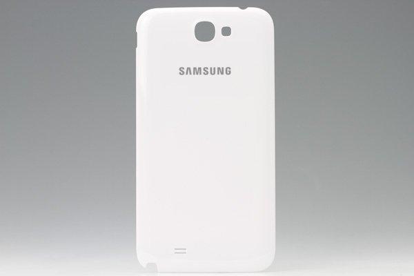 【ネコポス送料無料】SAMSUNG Galaxy Note2 (GT-N7100) バッテリーカバー ホワイト  [1]